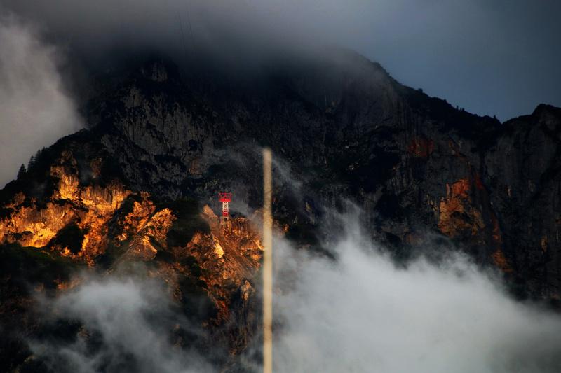 Wetter über dem Land Salzburg