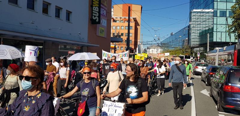 Klimastreik in Salzburg