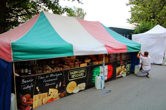 Benefitzkonzert & Ital. Markt in Hallein